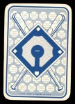 1968 Topps Game Inserts #2   Mickey Mantle   Back Thumbnail