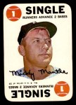 1968 Topps Game Inserts #2   Mickey Mantle   Front Thumbnail