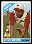 1966 Topps #72  Tony Perez  Front Thumbnail