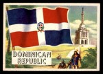 1956 Topps Flags of the World #73   Dominican Republic Front Thumbnail