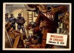 1954 Topps Scoop #42   Massacre In Chicago  Front Thumbnail