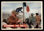 1956 Topps Davy Crockett #67 ORG  -     Storming The Walls  Front Thumbnail