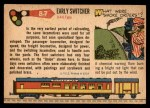 1955 Topps Rails & Sails #87   Early Switcher Back Thumbnail