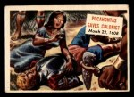 1954 Topps Scoop #150   Pocahontas Saves Colonist Front Thumbnail