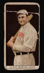 1912 T207 #104  Duffy Lewis    Front Thumbnail