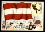 1956 Topps Flags of the World #24   Austria Front Thumbnail