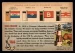 1955 Topps Rails & Sails #166   Sub-Chaser Back Thumbnail