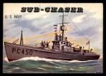 1955 Topps Rails & Sails #166   Sub-Chaser Front Thumbnail