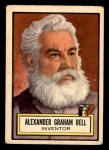 1952 Topps Look 'N See #74  Alexander Graham Bell  Front Thumbnail