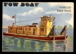 1955 Topps Rails & Sails #198   Tow Boat Front Thumbnail