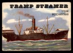 1955 Topps Rails & Sails #165   Tramp Steamer Front Thumbnail