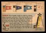 1955 Topps Rails & Sails #160   Trawler Back Thumbnail