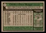1979 Topps #367  Dave Skaggs  Back Thumbnail