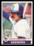 1979 Topps #243  Buck Martinez  Front Thumbnail