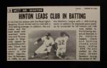 1964 Topps Giants #20  Chuck Hinton   Back Thumbnail