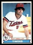 1979 Topps #219  Roy Smalley  Front Thumbnail