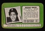 1971 Topps Super #1  Reggie Smith  Back Thumbnail