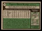 1979 Topps #196  Steve Kemp  Back Thumbnail