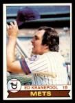 1979 Topps #505  Ed Kranepool  Front Thumbnail