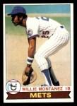 1979 Topps #305  Willie Montanez  Front Thumbnail