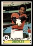 1979 Topps #517  Al Bumbry  Front Thumbnail