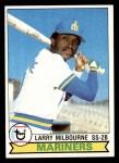 1979 Topps #199  Larry Milbourne  Front Thumbnail