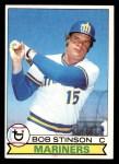 1979 Topps #252  Bob Stinson  Front Thumbnail