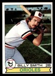 1979 Topps #237  Billy Smith  Front Thumbnail