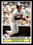1979 Topps #615  Ken Singleton  Front Thumbnail