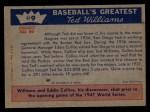 1959 Fleer #9   -  Ted Williams  1st Step to Majors Back Thumbnail
