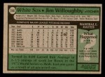 1979 Topps #266  Jim Willoughby  Back Thumbnail
