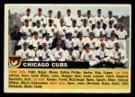 1956 Topps #11 LFT  Cubs Team Front Thumbnail