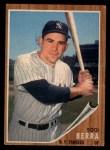 1962 Topps #360  Yogi Berra  Front Thumbnail