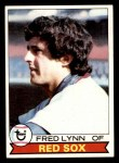 1979 Topps #480  Fred Lynn  Front Thumbnail