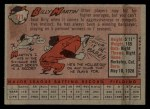 1958 Topps #271  Billy Martin  Back Thumbnail
