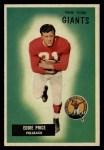 1955 Bowman #132  Eddie Price  Front Thumbnail
