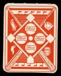 1951 Topps Red Back #39  Ted Kluszewski  Back Thumbnail