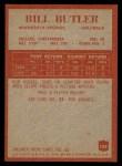 1965 Philadelphia #103  Bill Butler   Back Thumbnail