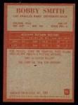 1965 Philadelphia #95  Bob Smith  Back Thumbnail