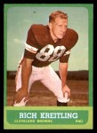1963 Topps #16  Rich Kreitling  Front Thumbnail