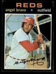 1971 Topps #538  Angel Bravo  Front Thumbnail