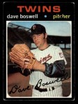 1971 Topps #675  Dave Boswell  Front Thumbnail