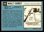 1964 Topps #95  Walt Corey  Back Thumbnail