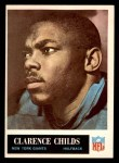 1965 Philadelphia #116  Clarence Childs   Front Thumbnail