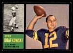 1962 Topps #77  Zeke Bratkowski  Front Thumbnail