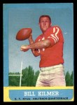 1963 Topps #136  Billy Kilmer  Front Thumbnail