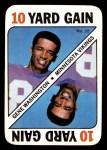 1971 Topps Game #32  Gene Washington  Front Thumbnail