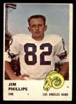 1961 Fleer #102  Jim Phillips  Front Thumbnail