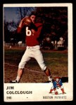 1961 Fleer #180  Jim Colclough  Front Thumbnail