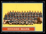 1962 Topps #25   Bears Team Front Thumbnail
